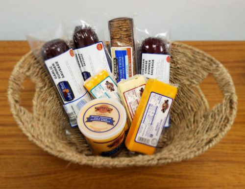 Cheese and Sausage Gift Box 1