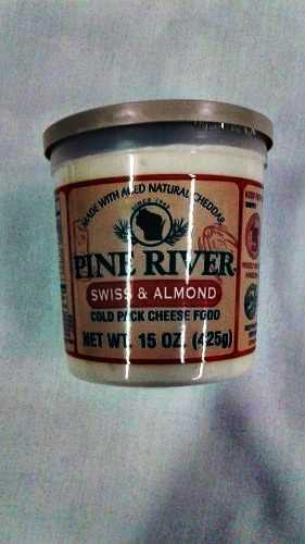 Pine River Swiss Almond Cheese Spread