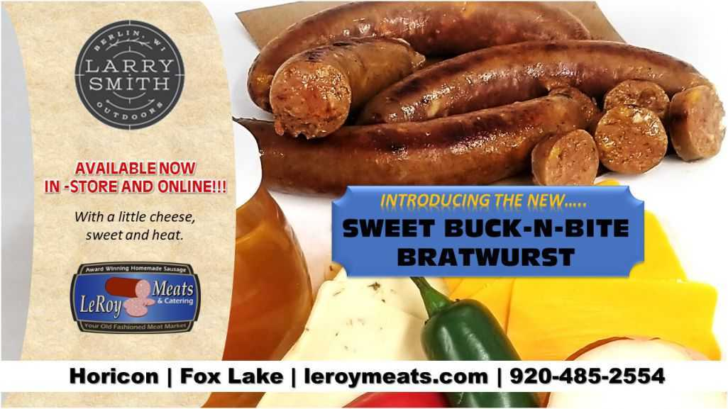 Larry Smith Sweet Buck-N-Bite Bratwurst